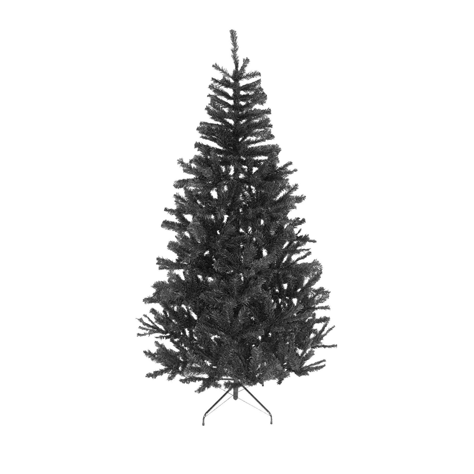 Artificial Christmas Tree Elegant Standard Led Fibre Optic Pre Lit Decoration 3535 7ft