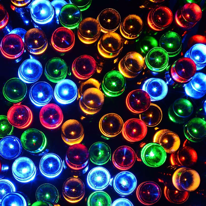 20-40-50-80-100-Batterie-DEL-Fairy-Lights-String-Fete-de-mariage-Decorations-Cuivre miniature 4