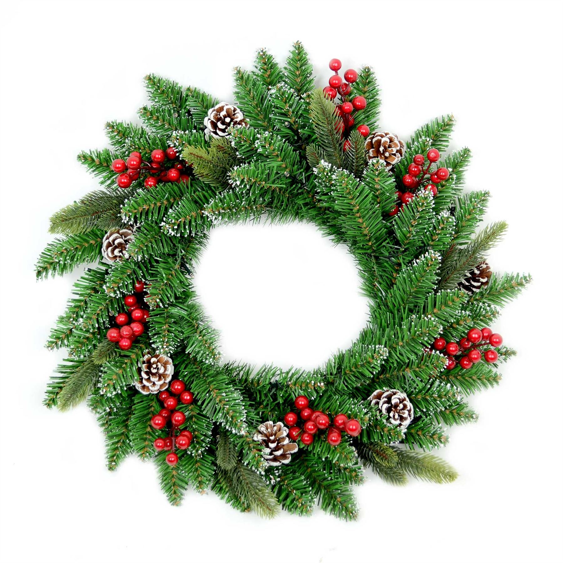 Christmas Tree Pre Lit Decorated Garland Wreath Xmas Home ...