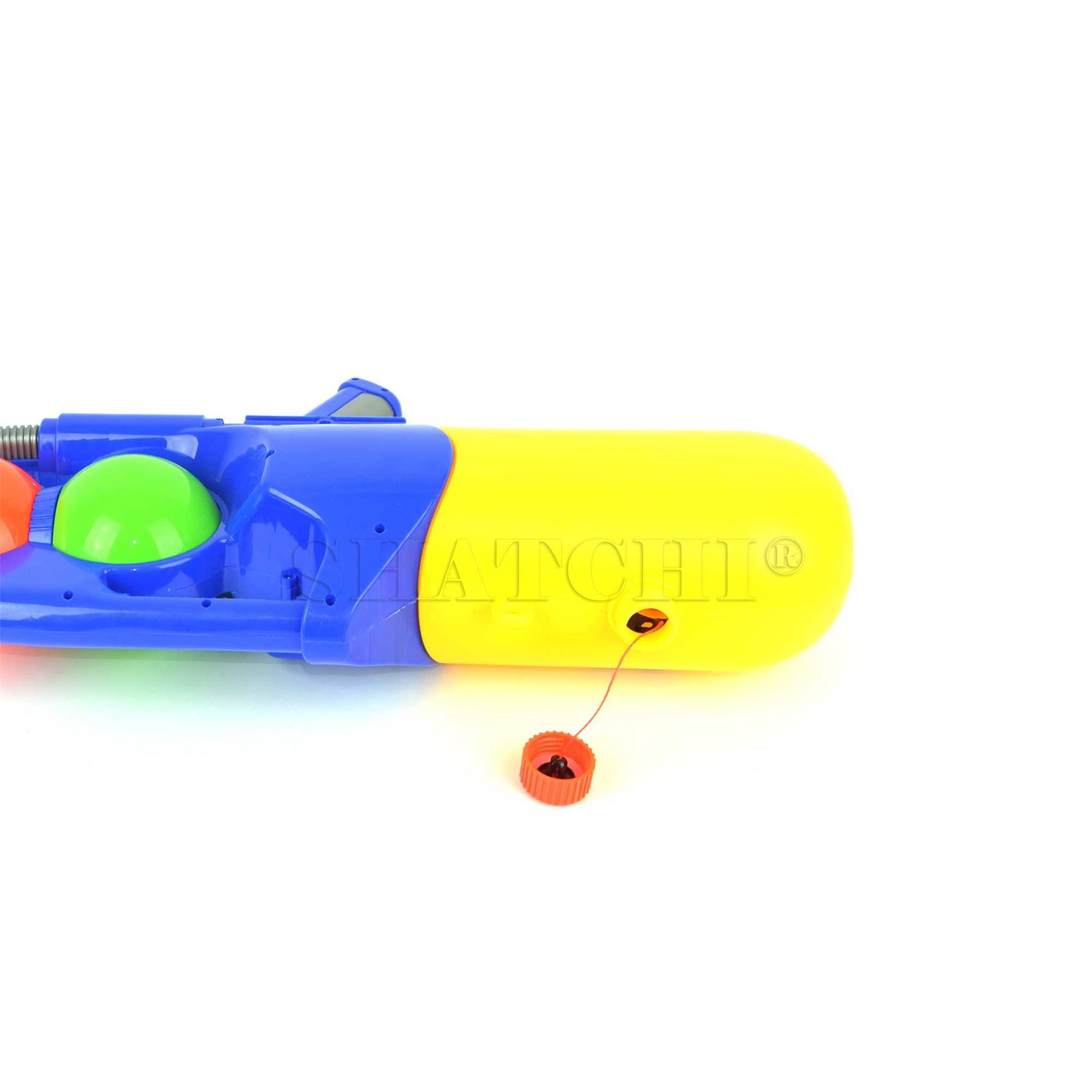 miniature 41 - Large Water Gun Pump Action Super Soaker Sprayer Backpack Outdoor Beach Garden