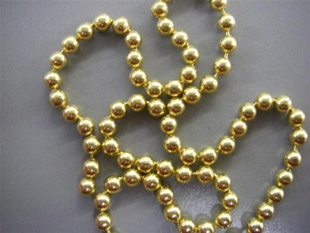 24-FT-environ-7-32-m-8-M-perle-boule-chaine-Guirlande-Arbre-de-Noel-Suspendu-Decorations-de-Noel miniature 4