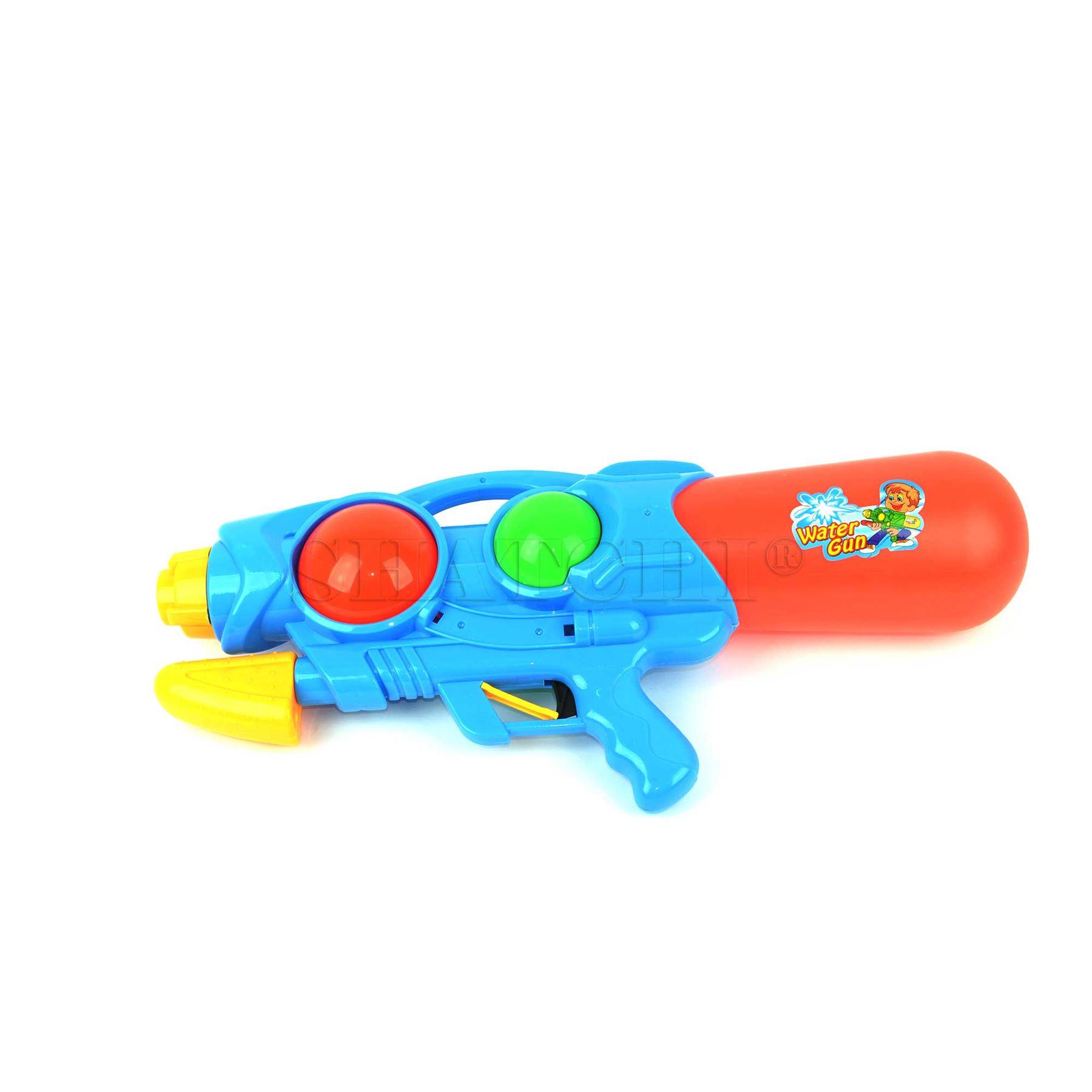miniature 26 - Large Water Gun Pump Action Super Soaker Sprayer Backpack Outdoor Beach Garden