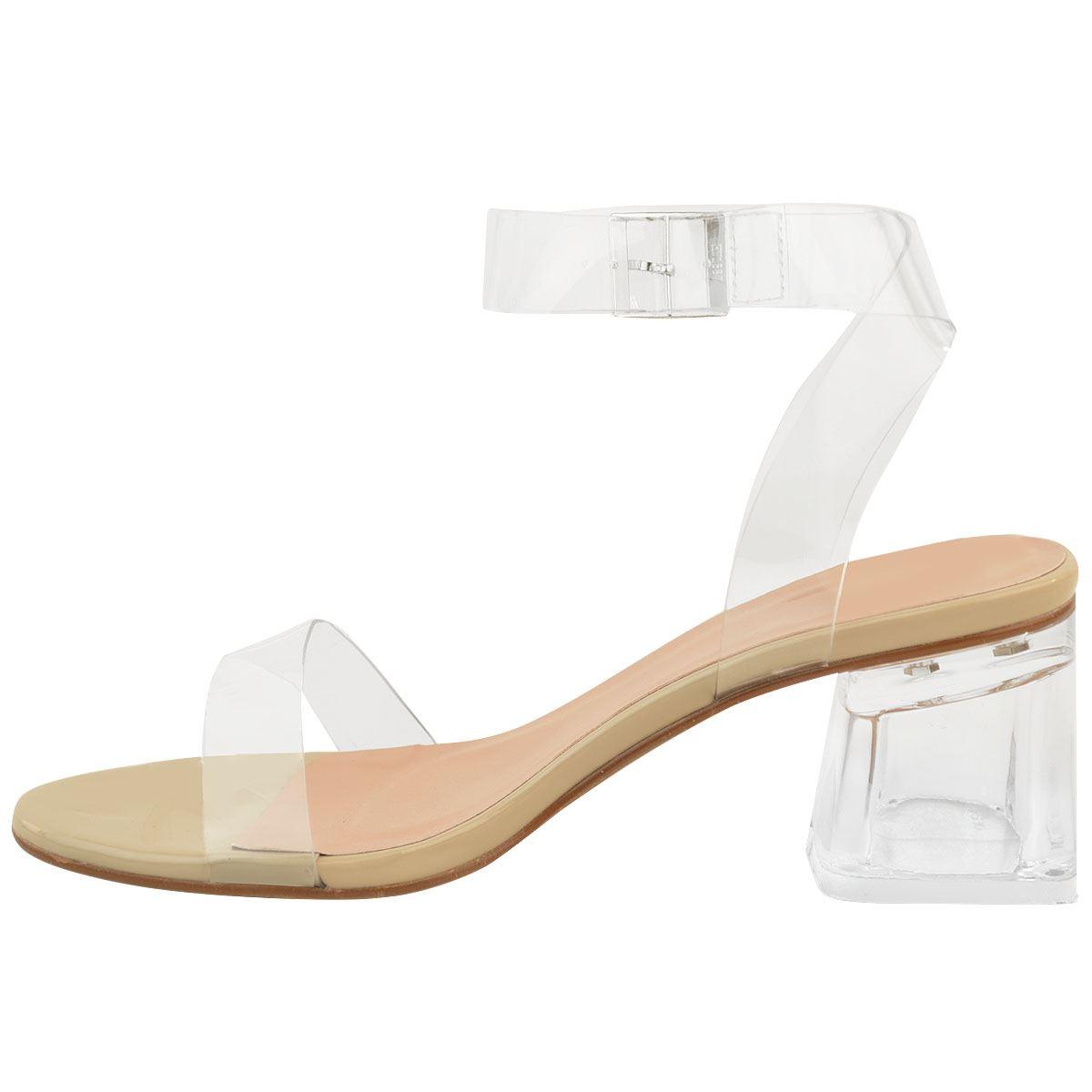 Bikini Nude Sandals Low Heel Pic