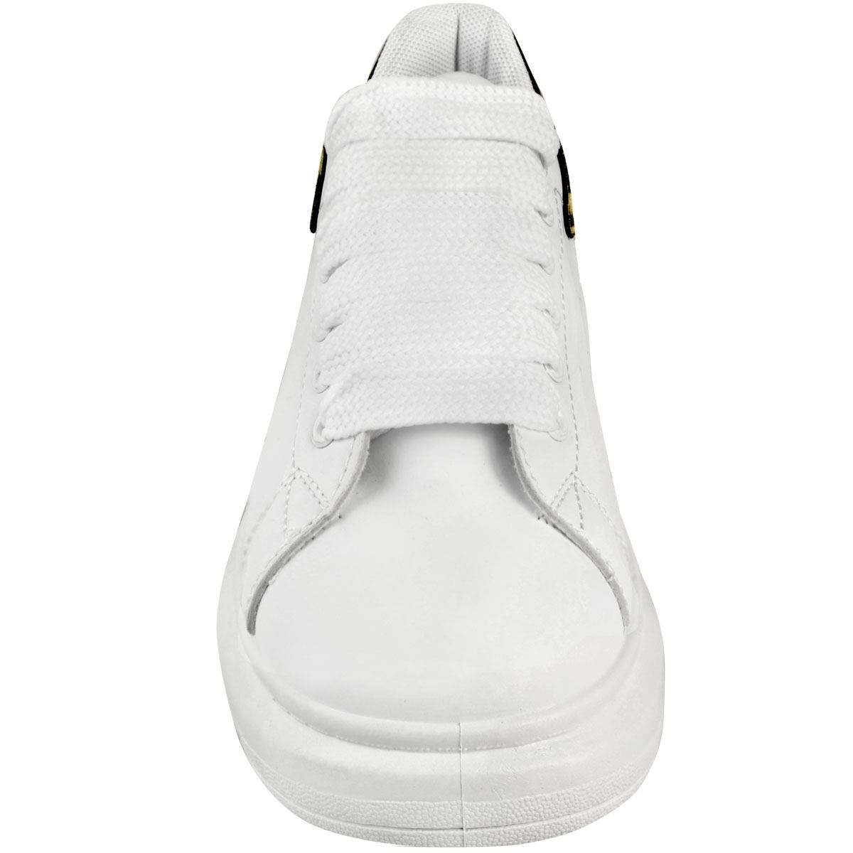 Womens Ladies White Black Chunky Oversize Trainers Sneakers Platform Sole Size
