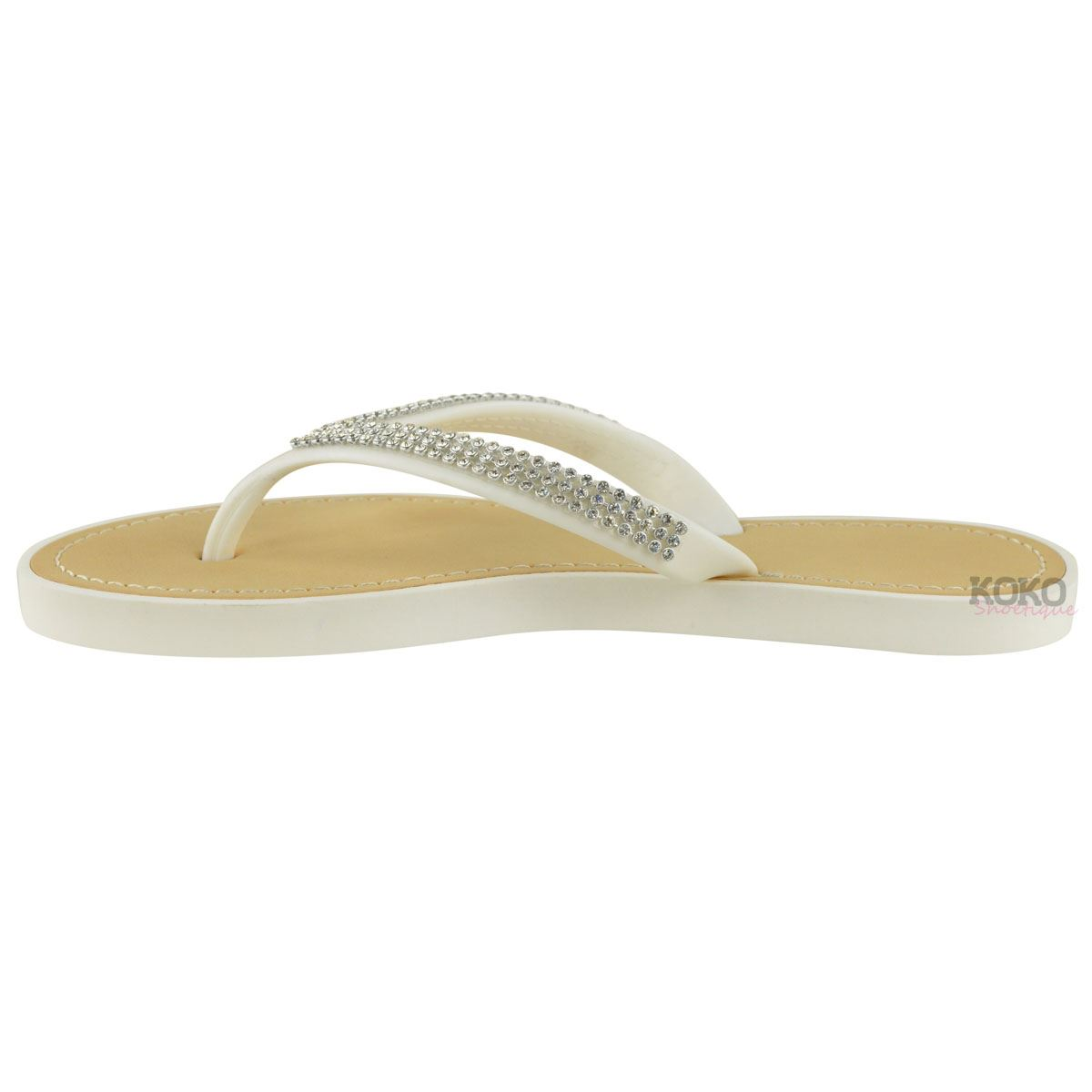 NEW-JELLY-SANDALS-WOMENS-LADIES-DIAMANTE-SUMMER-HOLIDAY-COMFORTS-FLIP-FLOPS-SIZE thumbnail 35