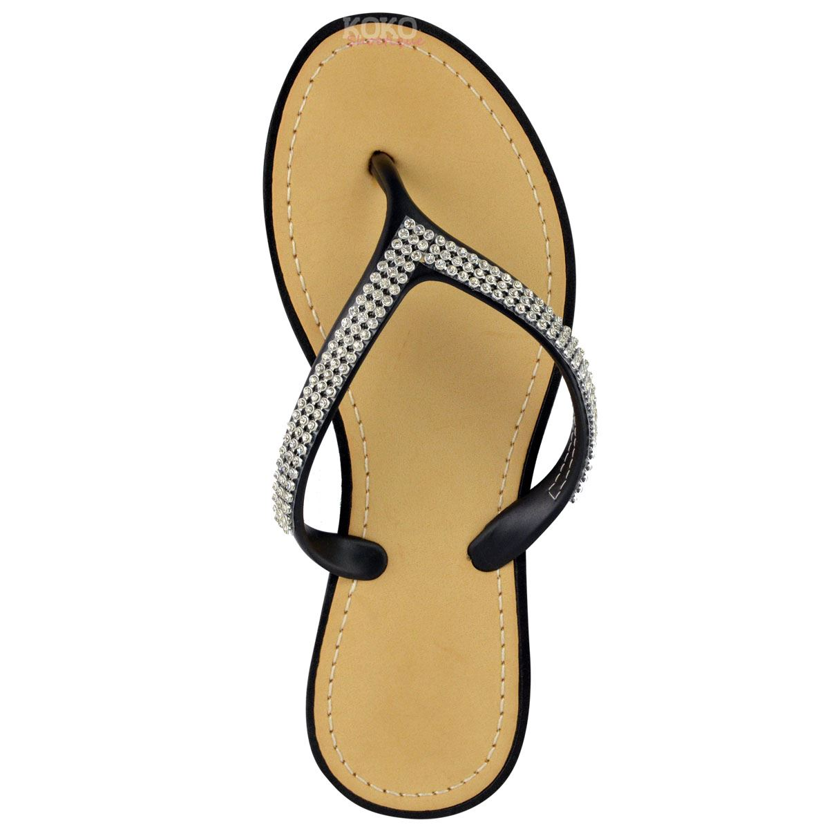 NEW-JELLY-SANDALS-WOMENS-LADIES-DIAMANTE-SUMMER-HOLIDAY-COMFORTS-FLIP-FLOPS-SIZE thumbnail 31