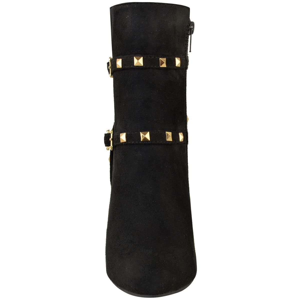 thumbnail 24 - WOMENS-LADIES-LOW-BLOCK-HEEL-CHELSEA-ANKLE-BOOTS-CUT-OUT-LACE-UP-SHOES-NEW-SIZE