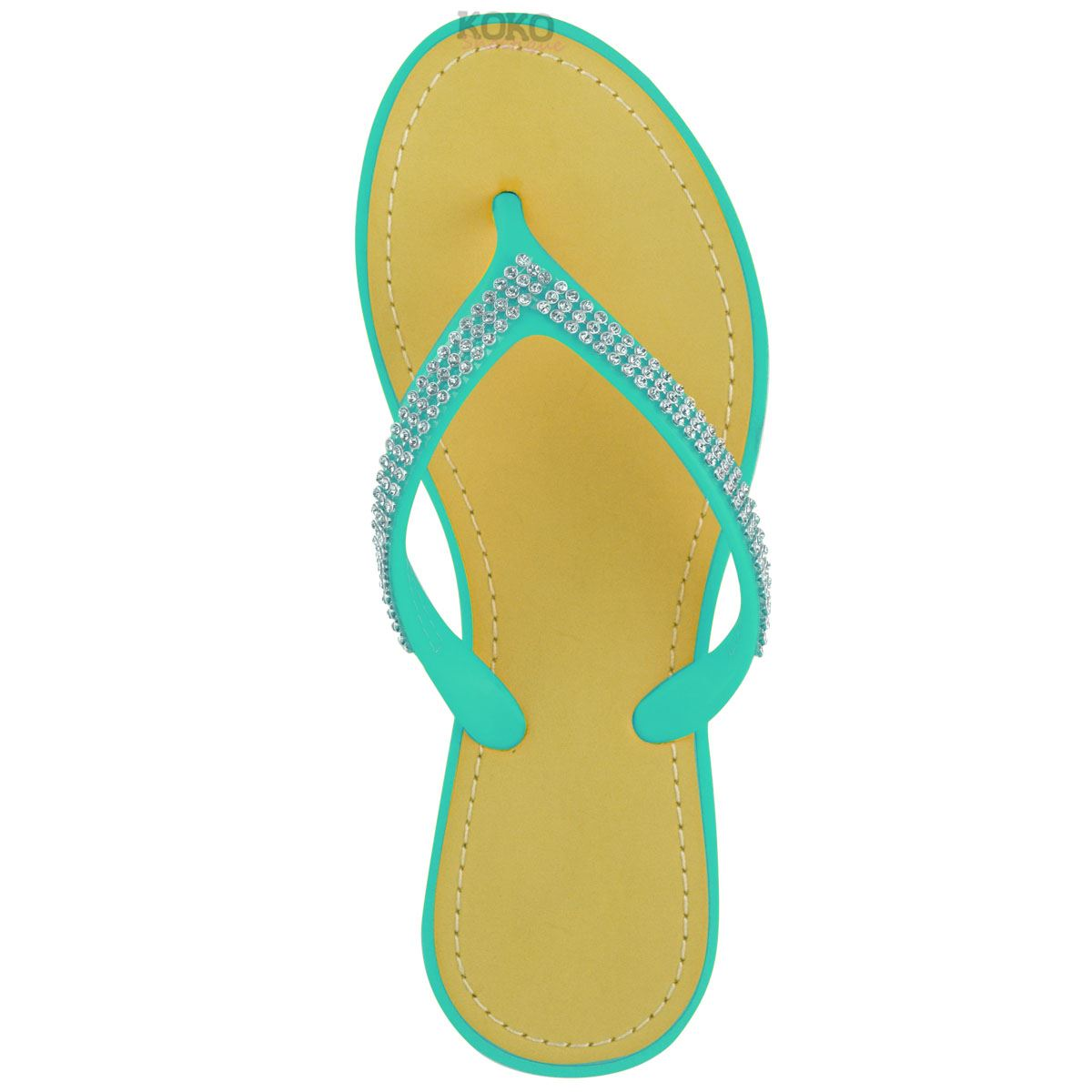NEW-JELLY-SANDALS-WOMENS-LADIES-DIAMANTE-SUMMER-HOLIDAY-COMFORTS-FLIP-FLOPS-SIZE thumbnail 48
