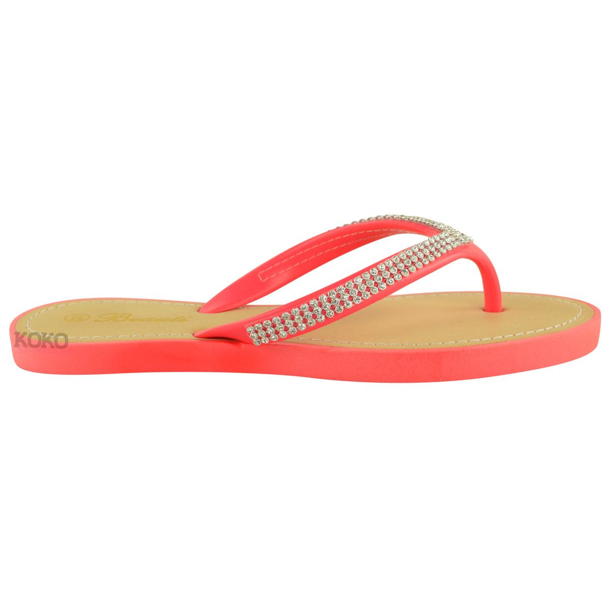 NEW-JELLY-SANDALS-WOMENS-LADIES-DIAMANTE-SUMMER-HOLIDAY-COMFORTS-FLIP-FLOPS-SIZE thumbnail 40