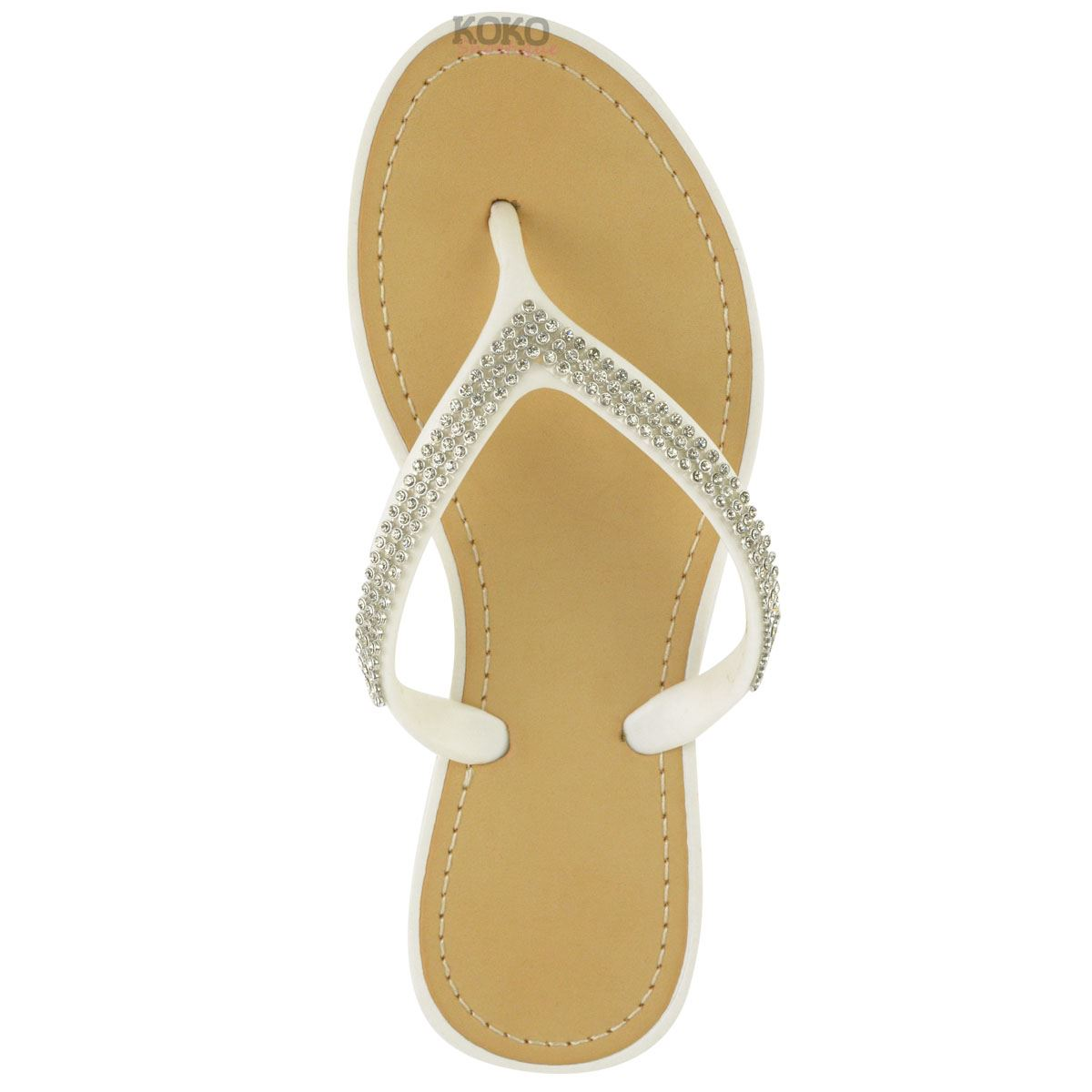 NEW-JELLY-SANDALS-WOMENS-LADIES-DIAMANTE-SUMMER-HOLIDAY-COMFORTS-FLIP-FLOPS-SIZE thumbnail 37