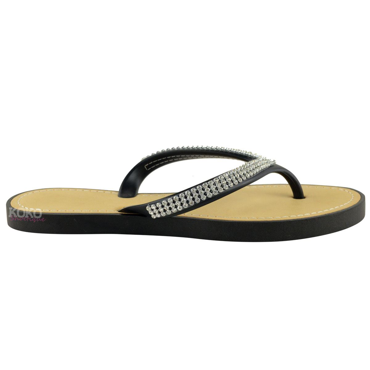 NEW-JELLY-SANDALS-WOMENS-LADIES-DIAMANTE-SUMMER-HOLIDAY-COMFORTS-FLIP-FLOPS-SIZE thumbnail 28