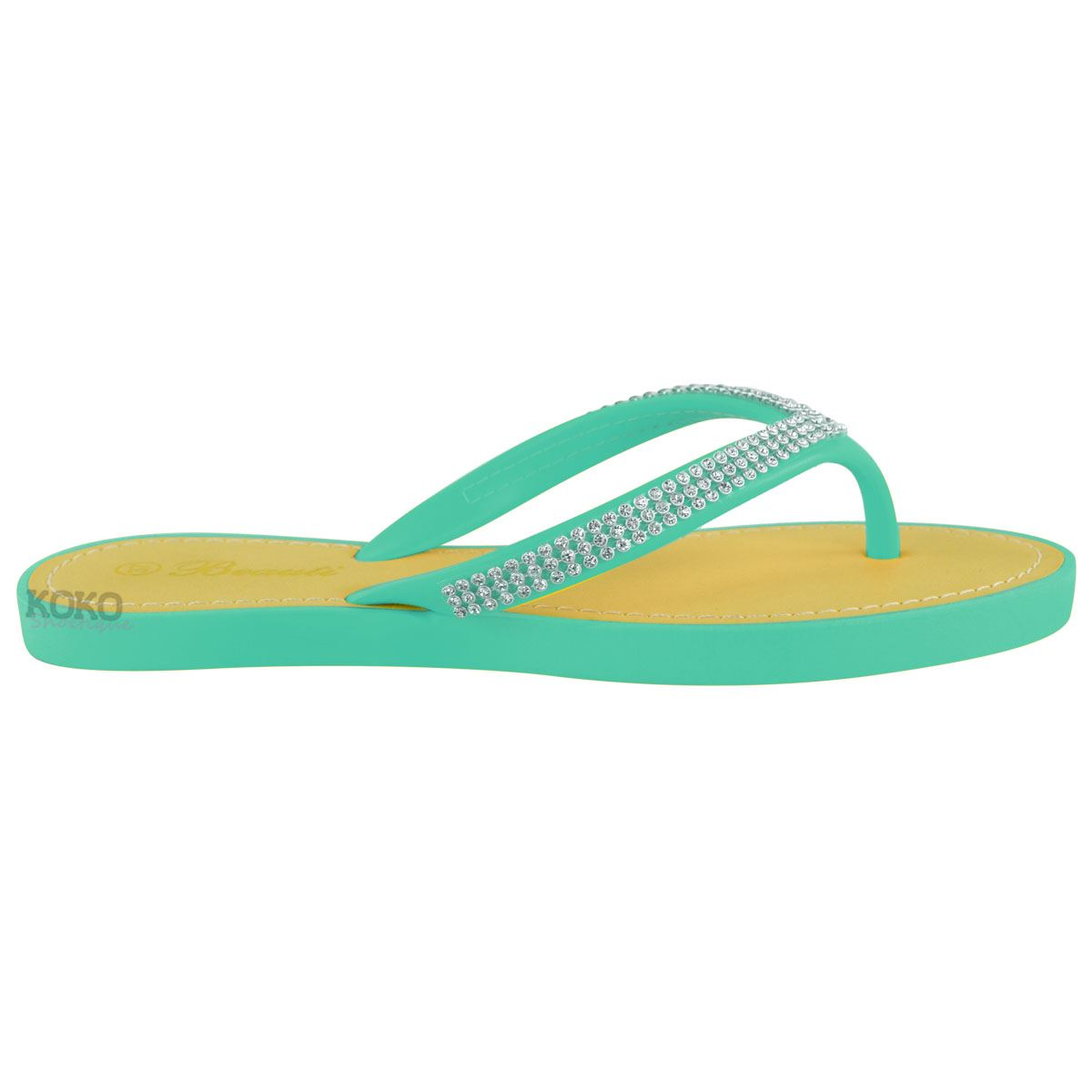 NEW-JELLY-SANDALS-WOMENS-LADIES-DIAMANTE-SUMMER-HOLIDAY-COMFORTS-FLIP-FLOPS-SIZE thumbnail 45