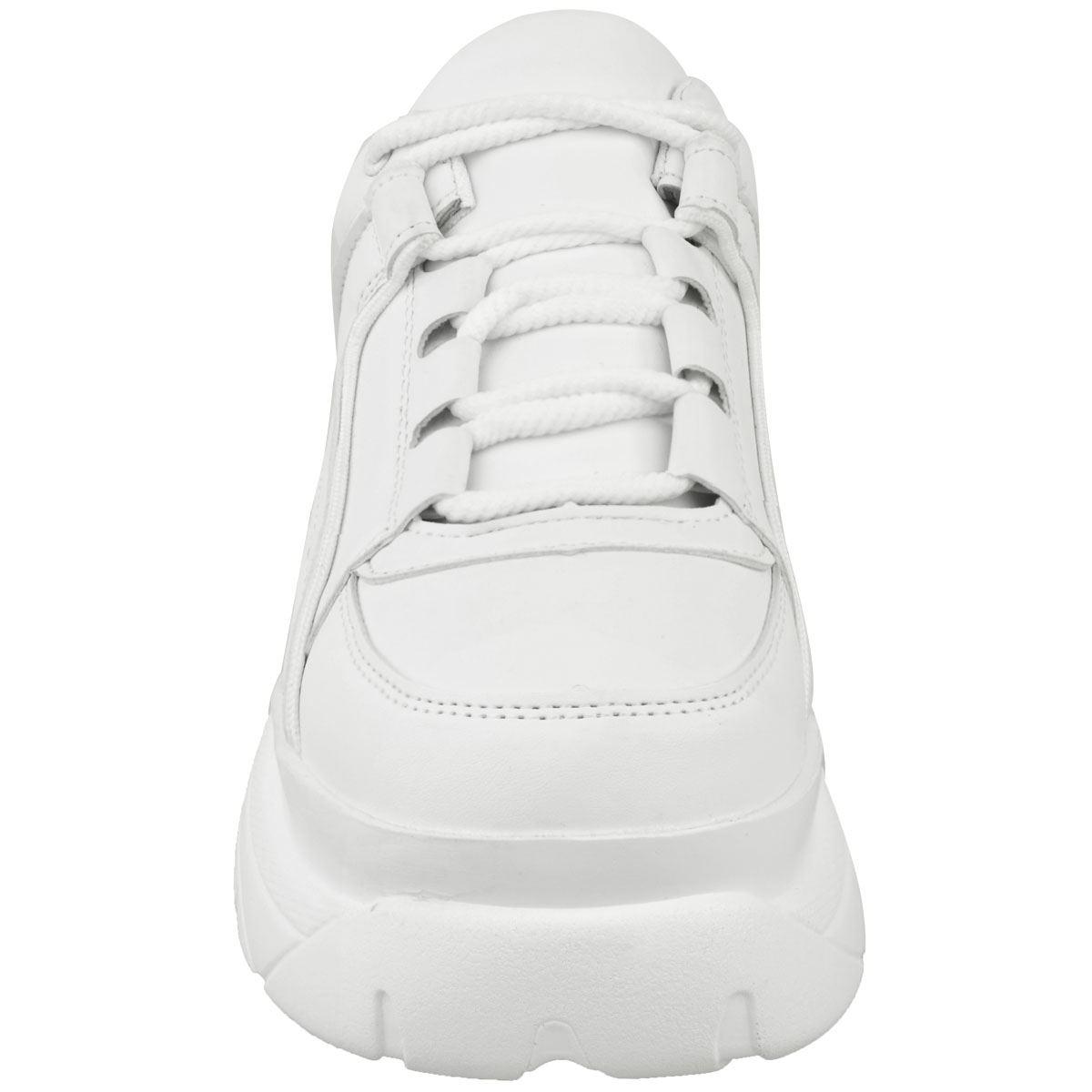 Womens-Ladies-Chunky-High-Platform-Trainers-Sneakers-White-Retro-Punk-Rock-New thumbnail 16