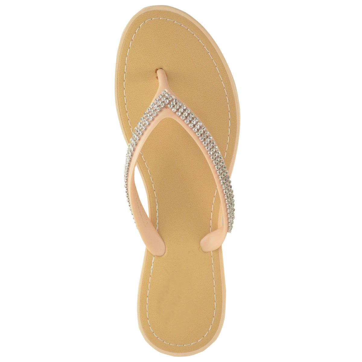 NEW-JELLY-SANDALS-WOMENS-LADIES-DIAMANTE-SUMMER-HOLIDAY-COMFORTS-FLIP-FLOPS-SIZE thumbnail 59