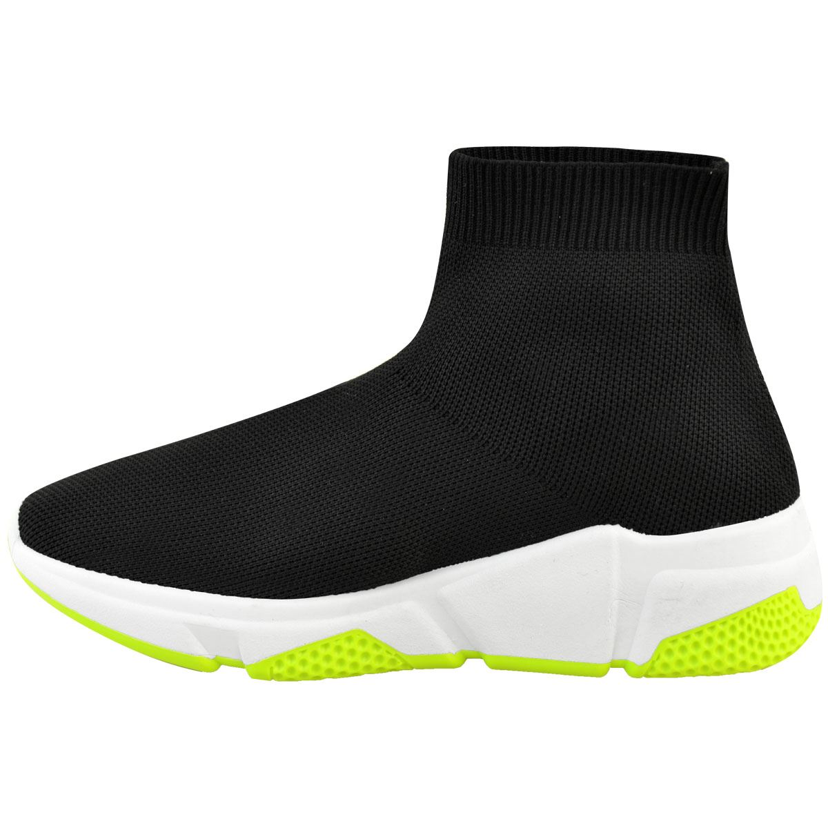 UK Womens Ladies Sneakers Trainers Sock Runners Comfy Speed Knit Gym Shoes Sizes