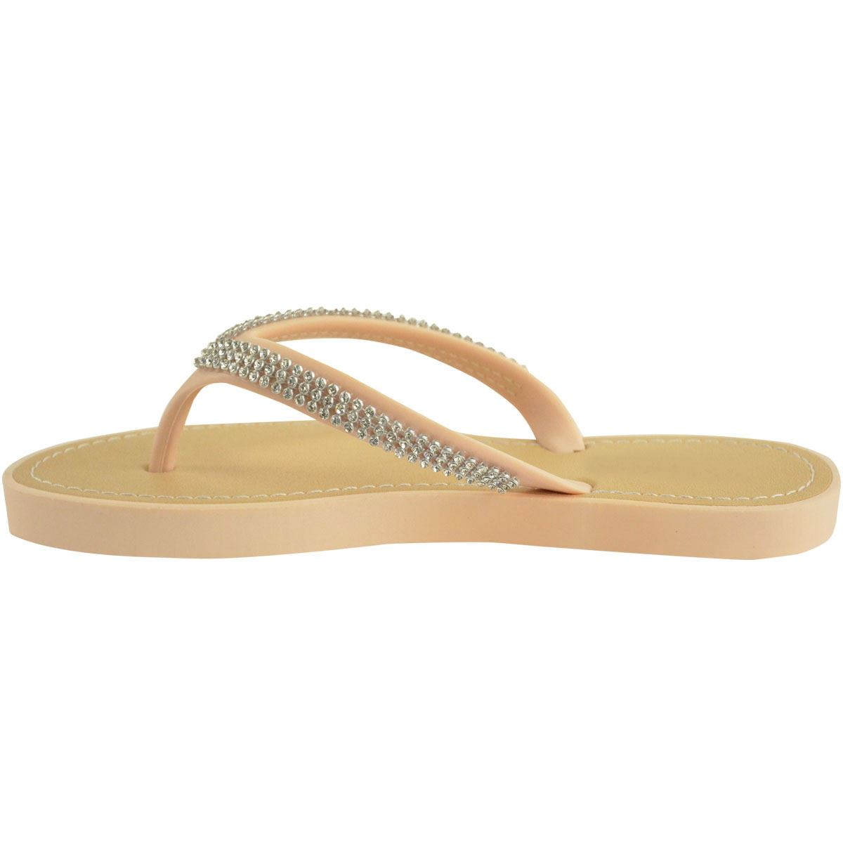 NEW-JELLY-SANDALS-WOMENS-LADIES-DIAMANTE-SUMMER-HOLIDAY-COMFORTS-FLIP-FLOPS-SIZE thumbnail 58