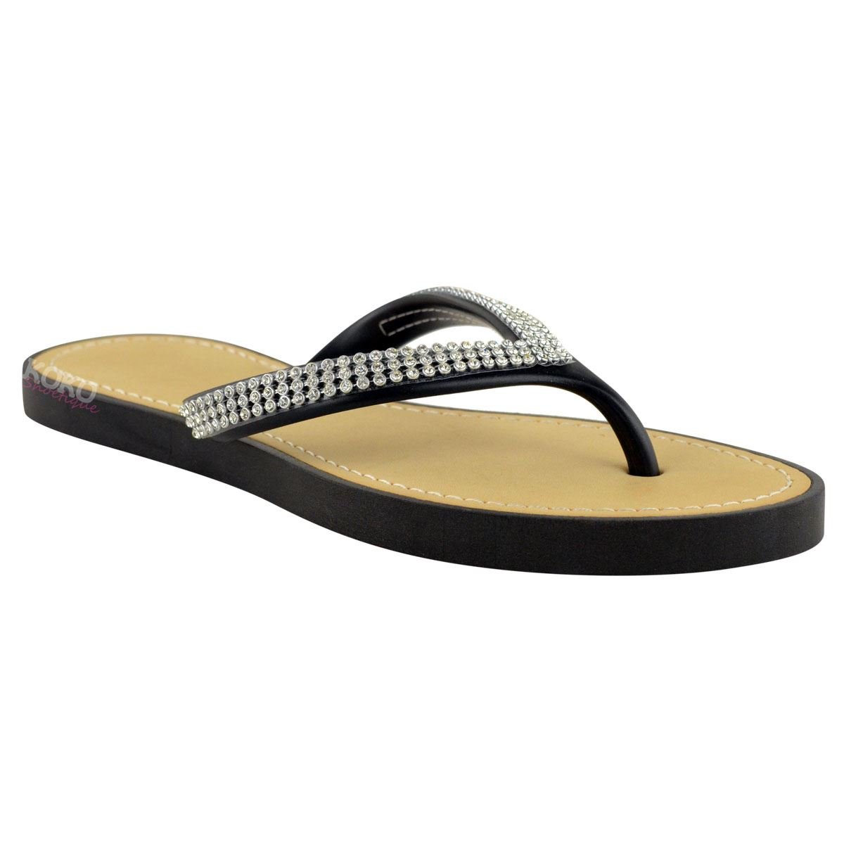 NEW-JELLY-SANDALS-WOMENS-LADIES-DIAMANTE-SUMMER-HOLIDAY-COMFORTS-FLIP-FLOPS-SIZE thumbnail 27