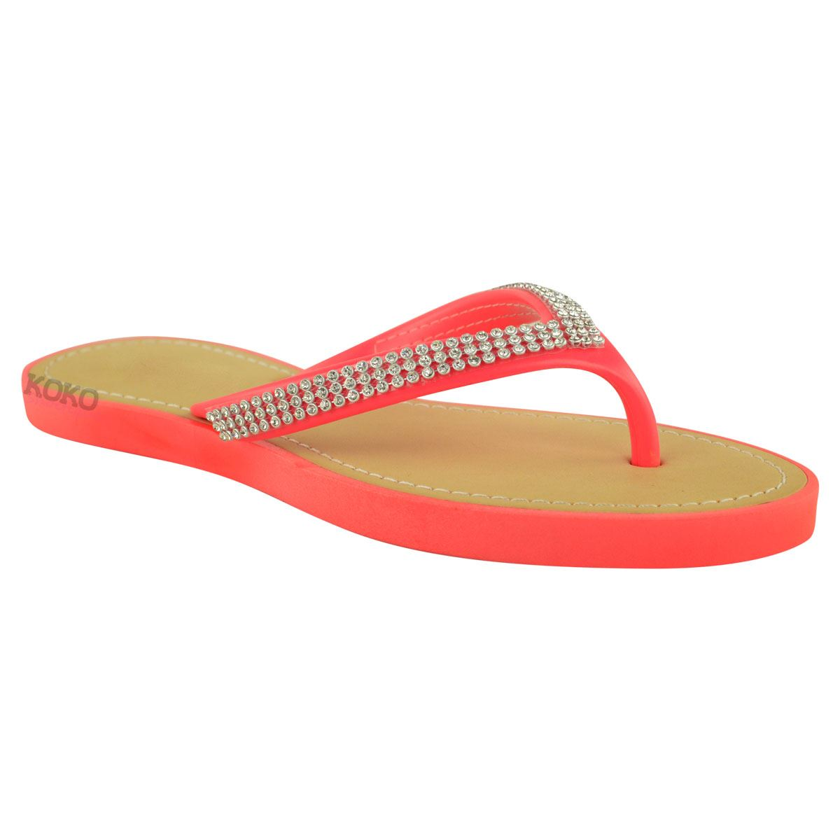 NEW-JELLY-SANDALS-WOMENS-LADIES-DIAMANTE-SUMMER-HOLIDAY-COMFORTS-FLIP-FLOPS-SIZE thumbnail 39