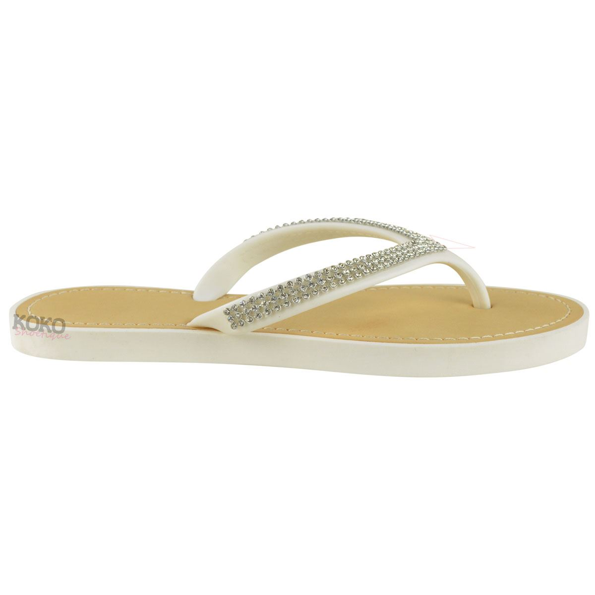 NEW-JELLY-SANDALS-WOMENS-LADIES-DIAMANTE-SUMMER-HOLIDAY-COMFORTS-FLIP-FLOPS-SIZE thumbnail 34