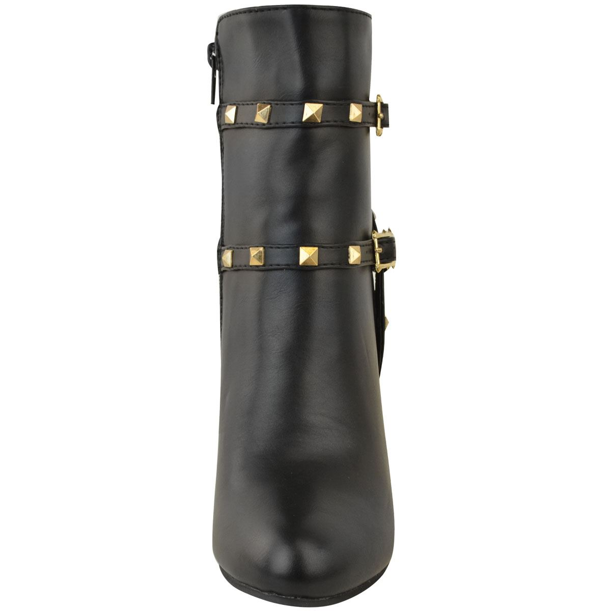 thumbnail 20 - WOMENS-LADIES-LOW-BLOCK-HEEL-CHELSEA-ANKLE-BOOTS-CUT-OUT-LACE-UP-SHOES-NEW-SIZE
