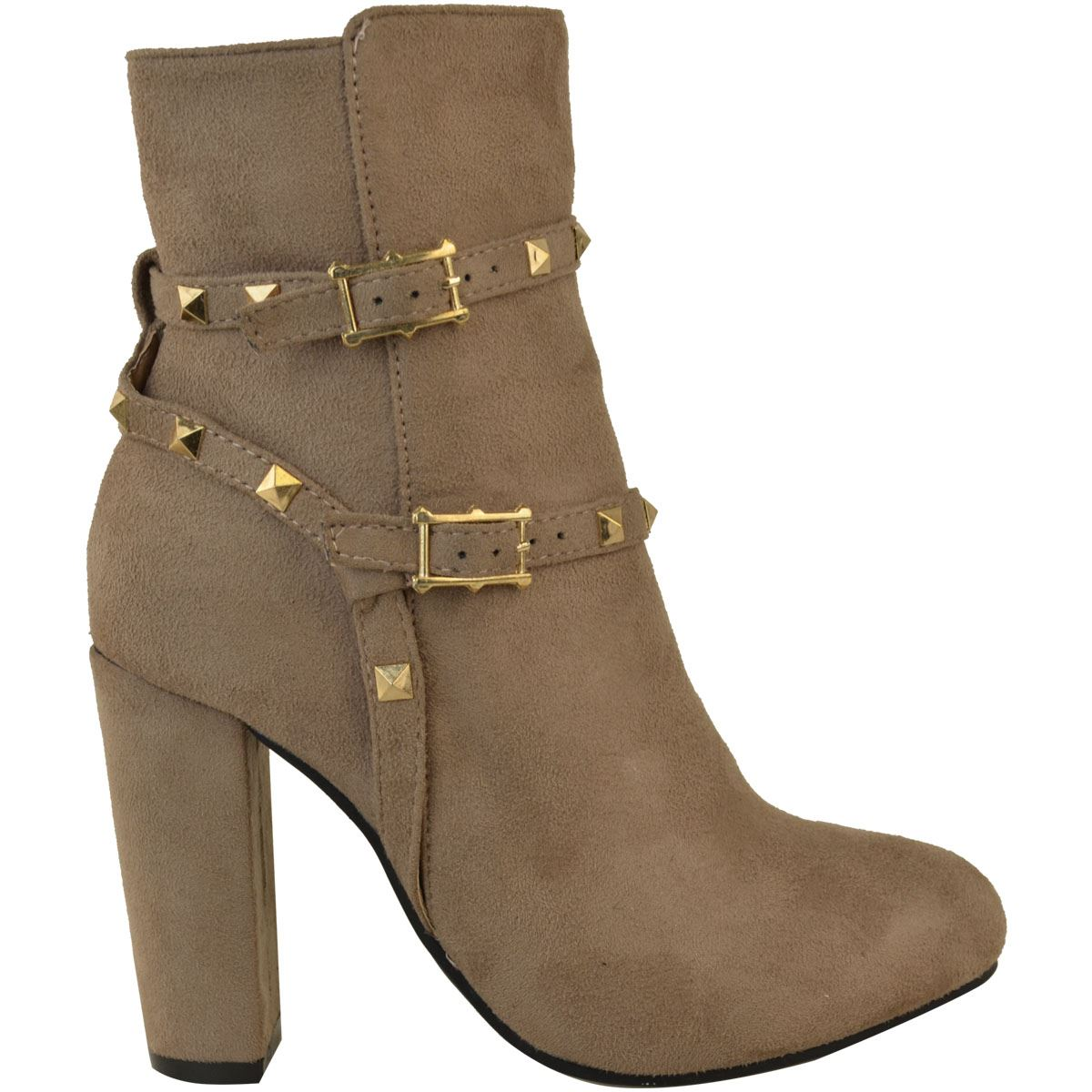 thumbnail 30 - WOMENS-LADIES-LOW-BLOCK-HEEL-CHELSEA-ANKLE-BOOTS-CUT-OUT-LACE-UP-SHOES-NEW-SIZE