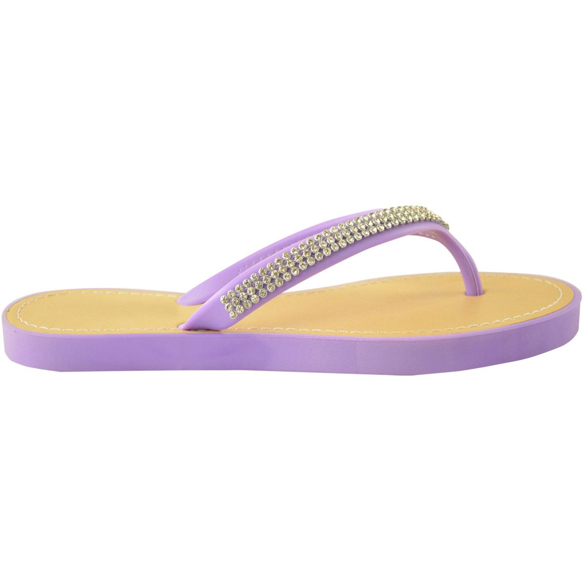 NEW-JELLY-SANDALS-WOMENS-LADIES-DIAMANTE-SUMMER-HOLIDAY-COMFORTS-FLIP-FLOPS-SIZE thumbnail 62
