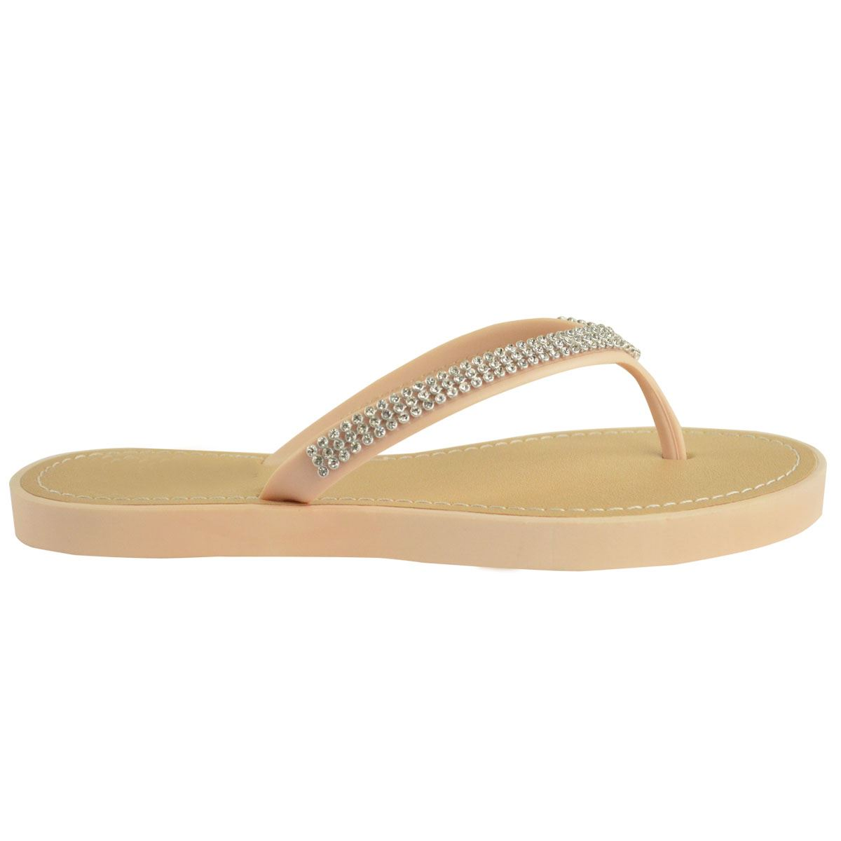 NEW-JELLY-SANDALS-WOMENS-LADIES-DIAMANTE-SUMMER-HOLIDAY-COMFORTS-FLIP-FLOPS-SIZE thumbnail 57