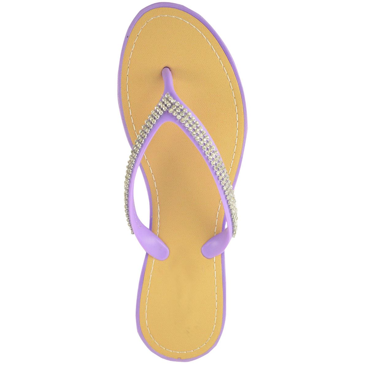 NEW-JELLY-SANDALS-WOMENS-LADIES-DIAMANTE-SUMMER-HOLIDAY-COMFORTS-FLIP-FLOPS-SIZE thumbnail 64