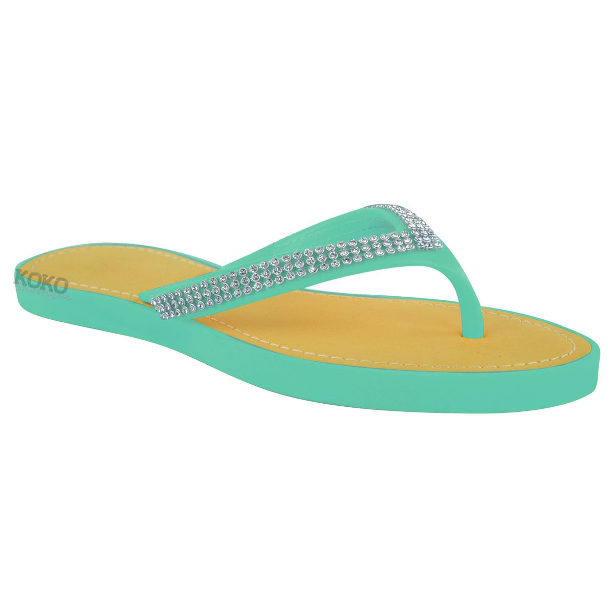NEW-JELLY-SANDALS-WOMENS-LADIES-DIAMANTE-SUMMER-HOLIDAY-COMFORTS-FLIP-FLOPS-SIZE thumbnail 44