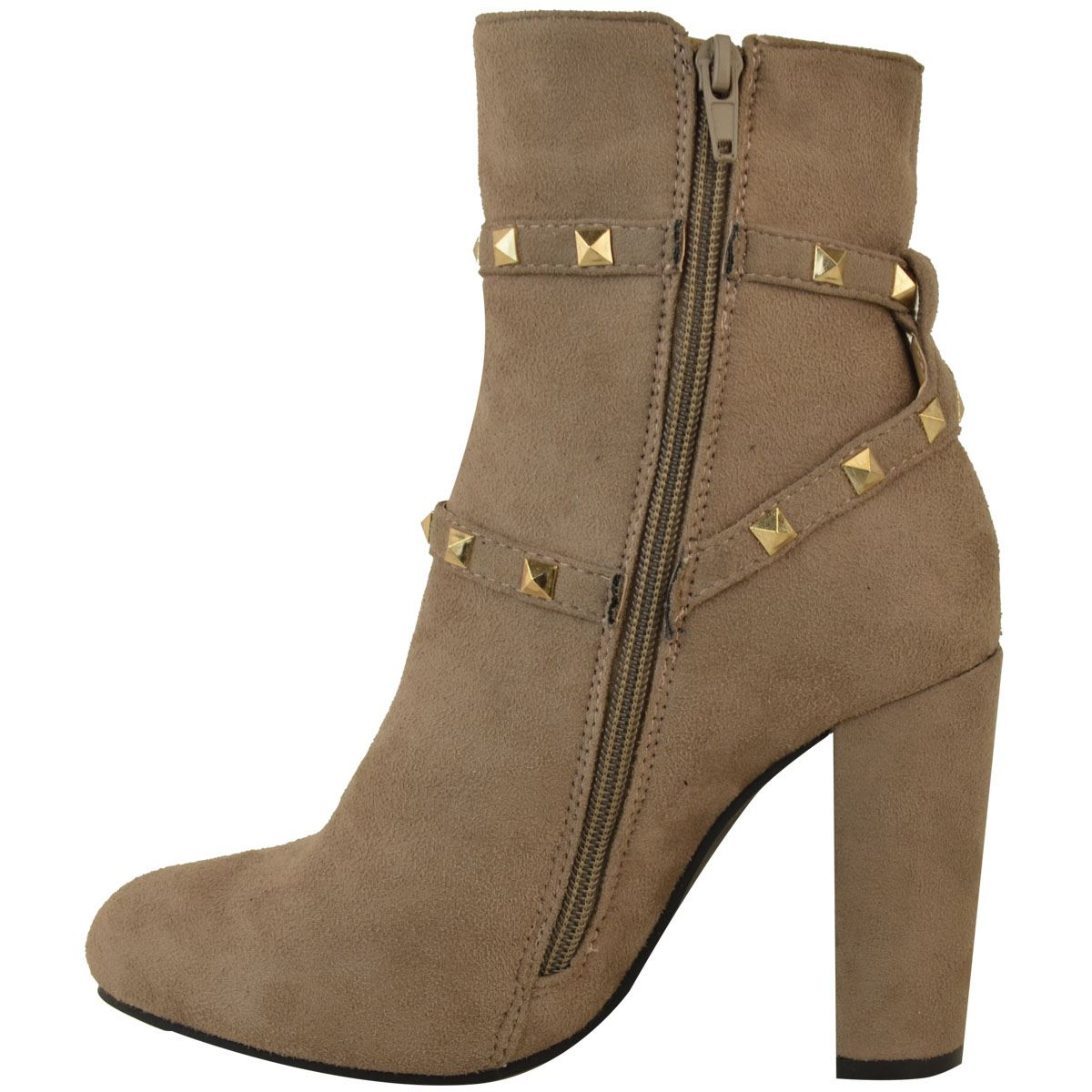 thumbnail 31 - WOMENS-LADIES-LOW-BLOCK-HEEL-CHELSEA-ANKLE-BOOTS-CUT-OUT-LACE-UP-SHOES-NEW-SIZE