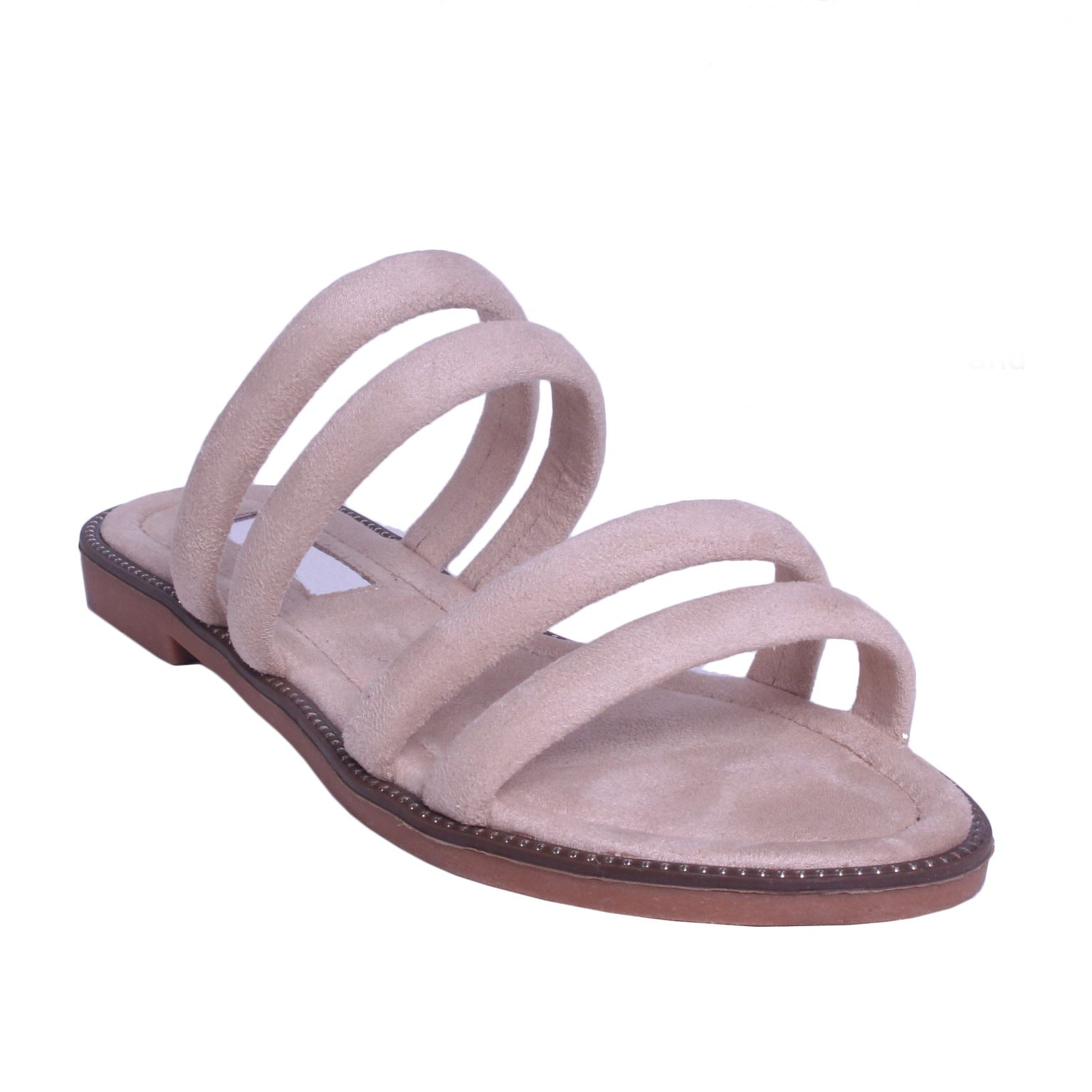 Womens-Ladies-Flat-Slip-On-Sandals-Strappy-Summer-Holiday-Slides-Mules-Shoe-SIze thumbnail 5