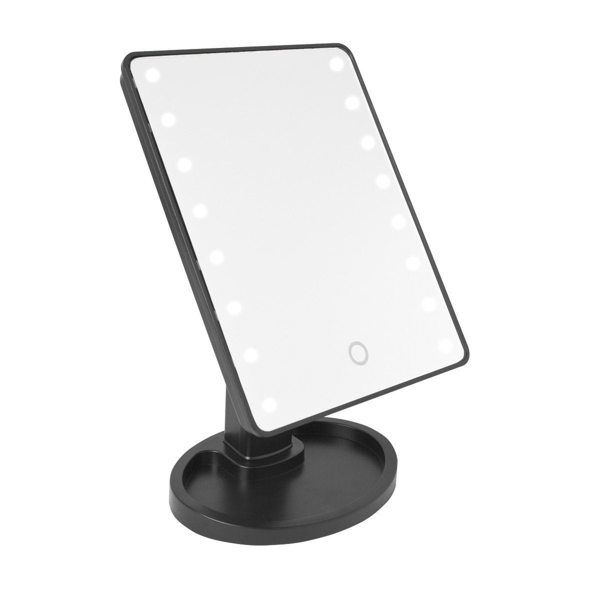 magnifying makeup wall light mounted lighted top lighting tremendous lights ingenuity led small mirror with
