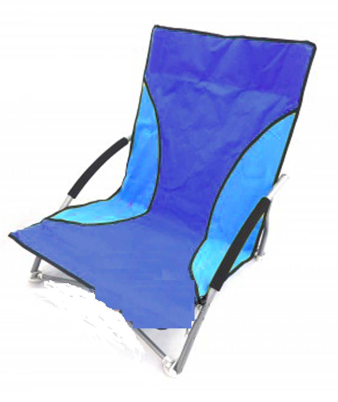 Folding Beach Chair Camping Festival Beach Pool Picnic Deckchair Lounger