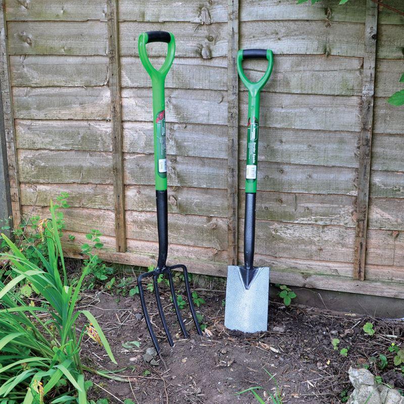 FORK Carbon Steel Heat Treated Gardening Tool Fork Builder Equipment Garden DIY