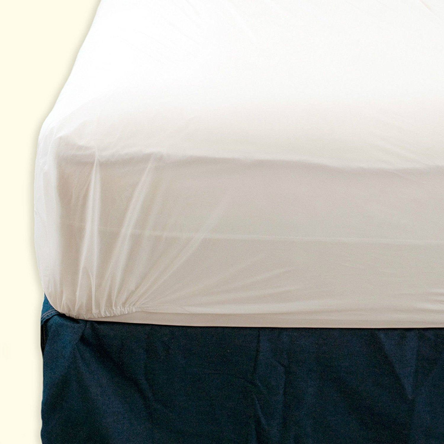 NEW PLASTIC MATTRESS PROTECTOR BED WETTING SHEET COVER