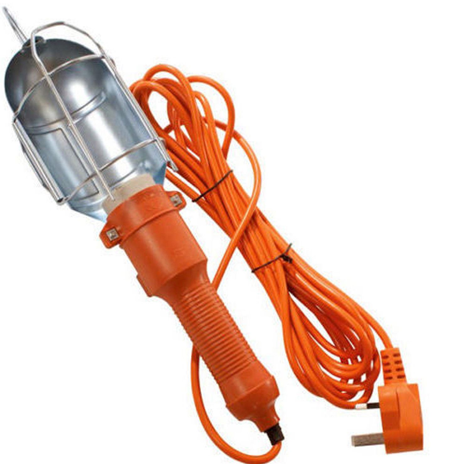 Inspection Lamp Work Light Car Garage Loft 5 Metres New: Car Garage Mains Inspection Lamp Work Light Work Bulb 5M