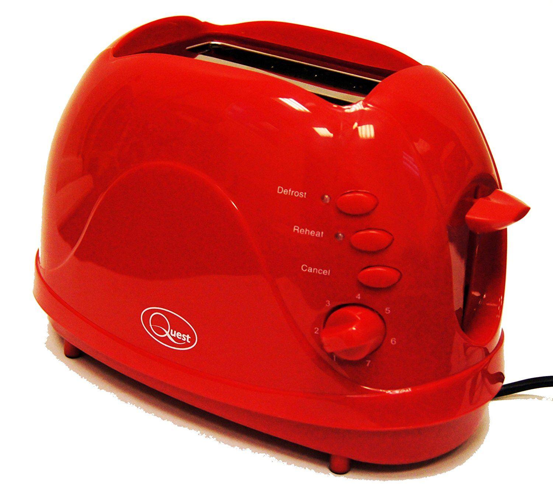 Cordless Jug Kettle 2 Slice Toaster /& Sandwich Toast Maker Kitchen Set in Red