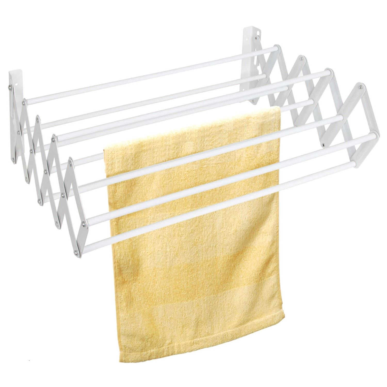 Indoor Clothes Airer Dryer Wall Mounted Expandable Laundry Hanging
