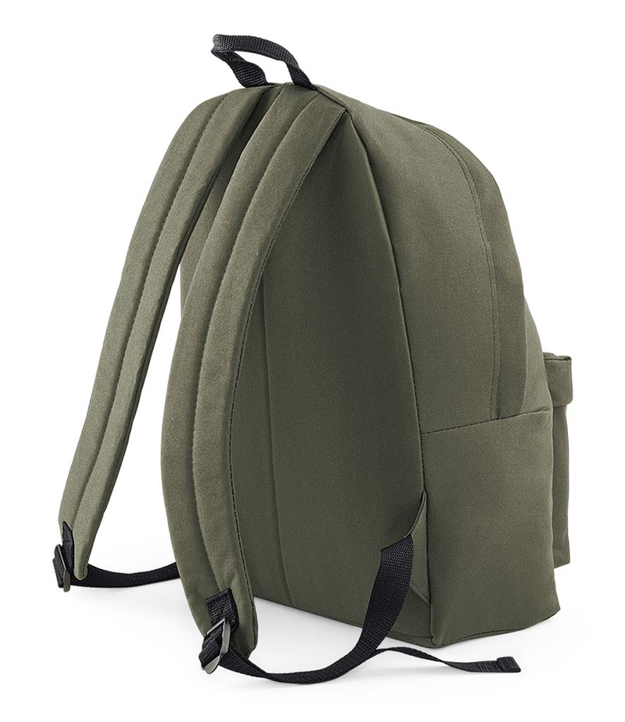 Unisex-Rucksack-Backpack-BagBase-Fashion-Travel-Bag-School-Men-Women thumbnail 45