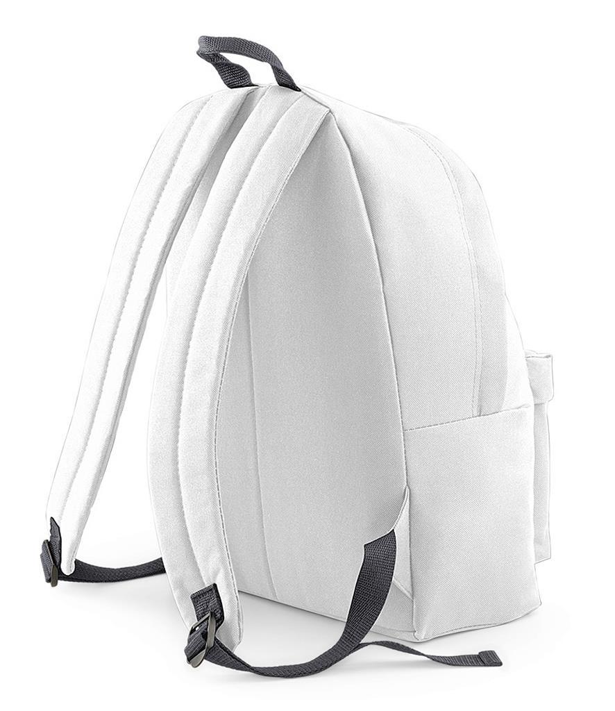 Unisex-Rucksack-Backpack-BagBase-Fashion-Travel-Bag-School-Men-Women thumbnail 65