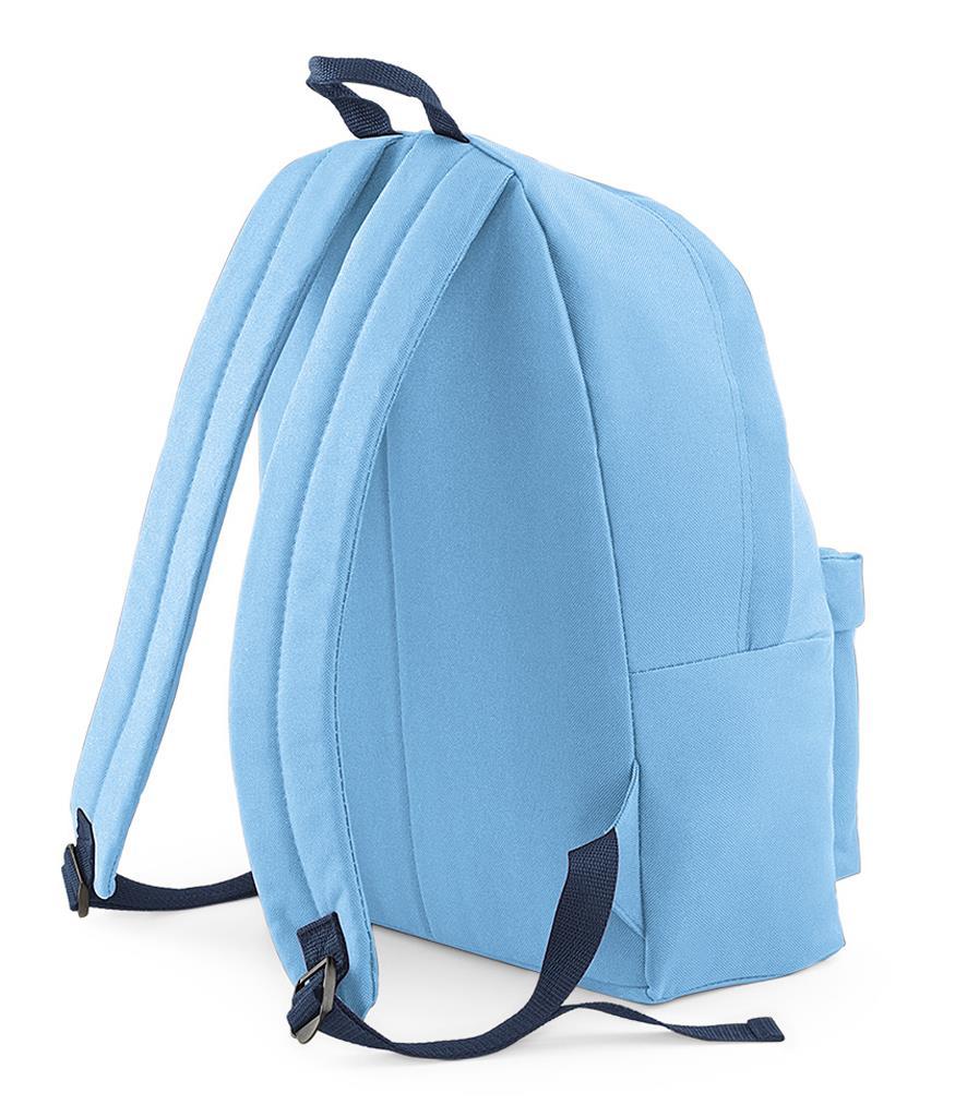 Unisex-Rucksack-Backpack-BagBase-Fashion-Travel-Bag-School-Men-Women thumbnail 59