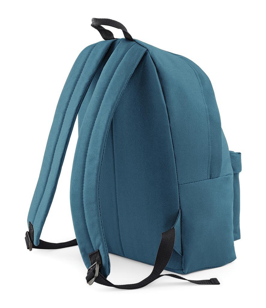 Unisex-Rucksack-Backpack-BagBase-Fashion-Travel-Bag-School-Men-Women thumbnail 3