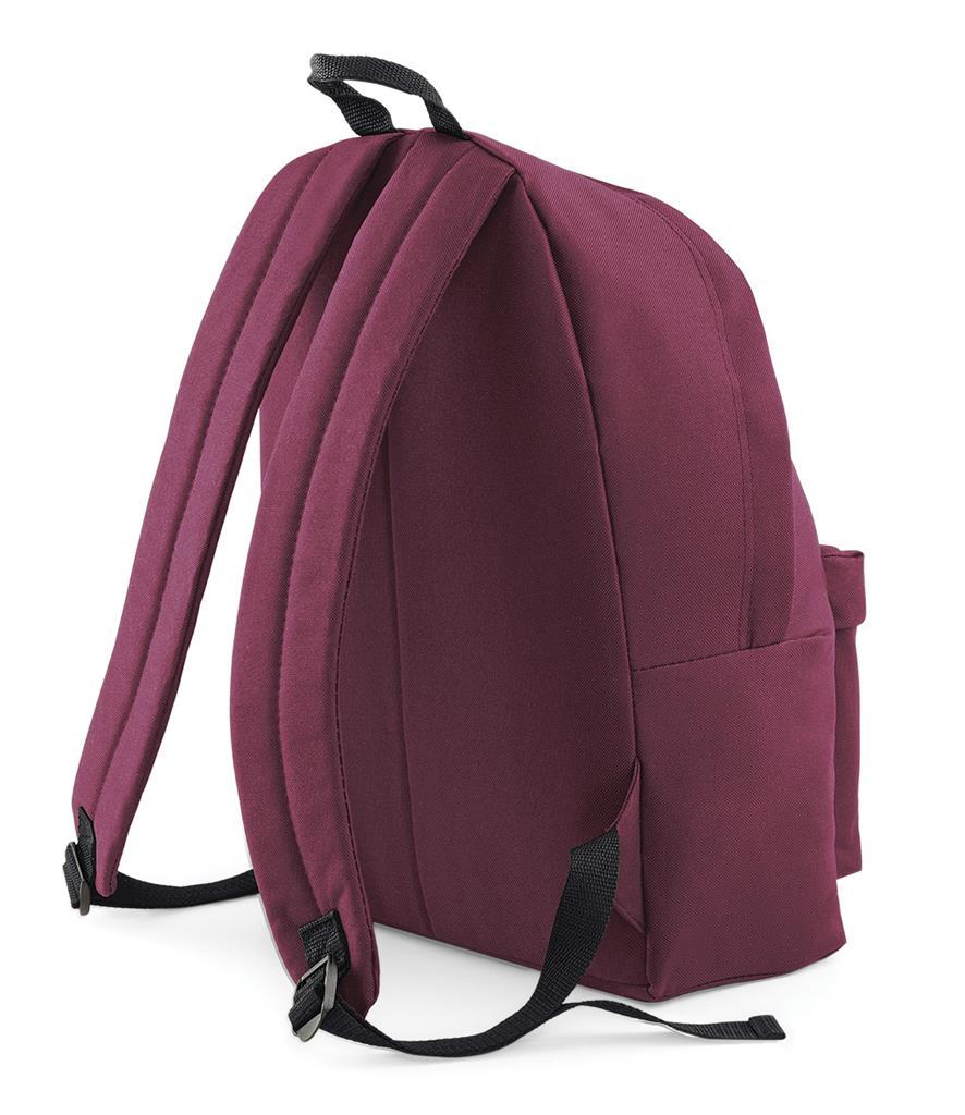 Unisex-Rucksack-Backpack-BagBase-Fashion-Travel-Bag-School-Men-Women thumbnail 13