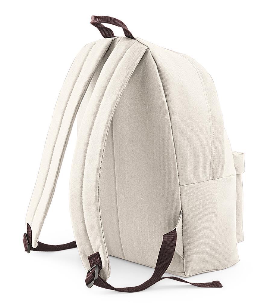 Unisex-Rucksack-Backpack-BagBase-Fashion-Travel-Bag-School-Men-Women thumbnail 55