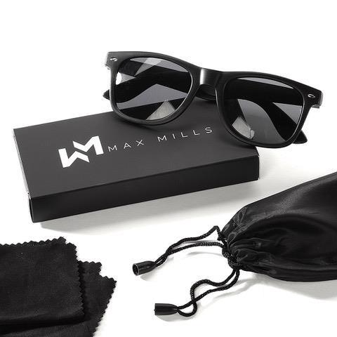 Max Mills Wayfare Mens Ladies Womens UV400 Retro Unisex