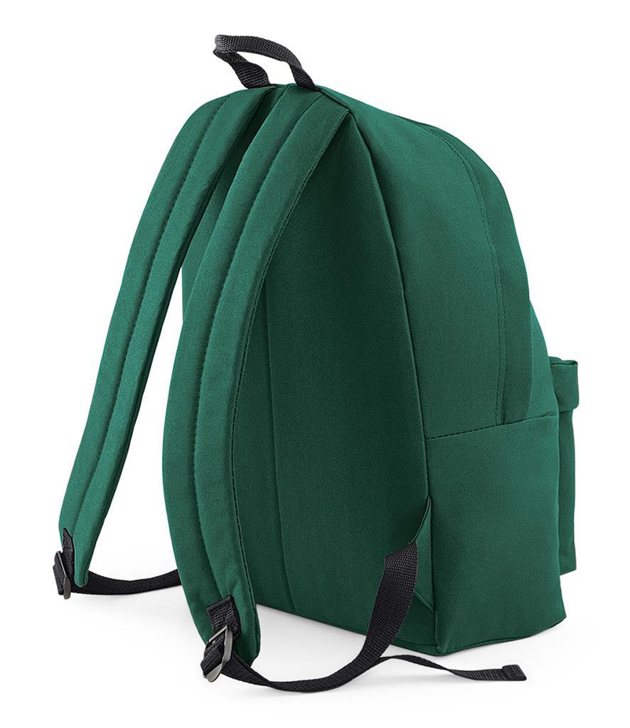 Unisex-Rucksack-Backpack-BagBase-Fashion-Travel-Bag-School-Men-Women thumbnail 7