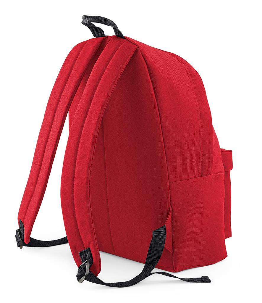 Unisex-Rucksack-Backpack-BagBase-Fashion-Travel-Bag-School-Men-Women thumbnail 21