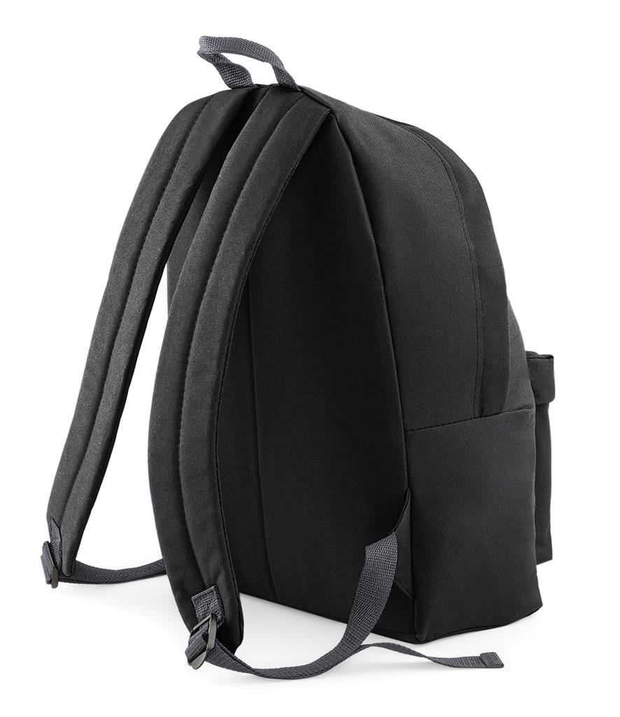 Unisex-Rucksack-Backpack-BagBase-Fashion-Travel-Bag-School-Men-Women thumbnail 5