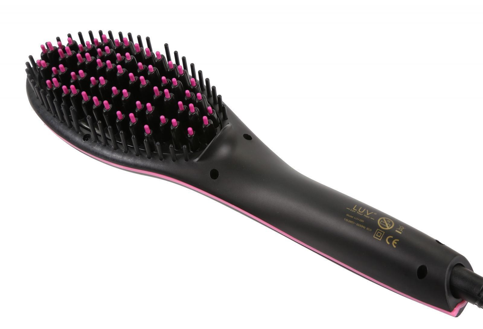 LUV-Hair-Straightening-Brush-Anti-Static-Technology-Anti-Scald-LCD-Display thumbnail 10