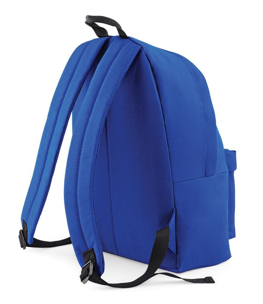 Unisex-Rucksack-Backpack-BagBase-Fashion-Travel-Bag-School-Men-Women thumbnail 11
